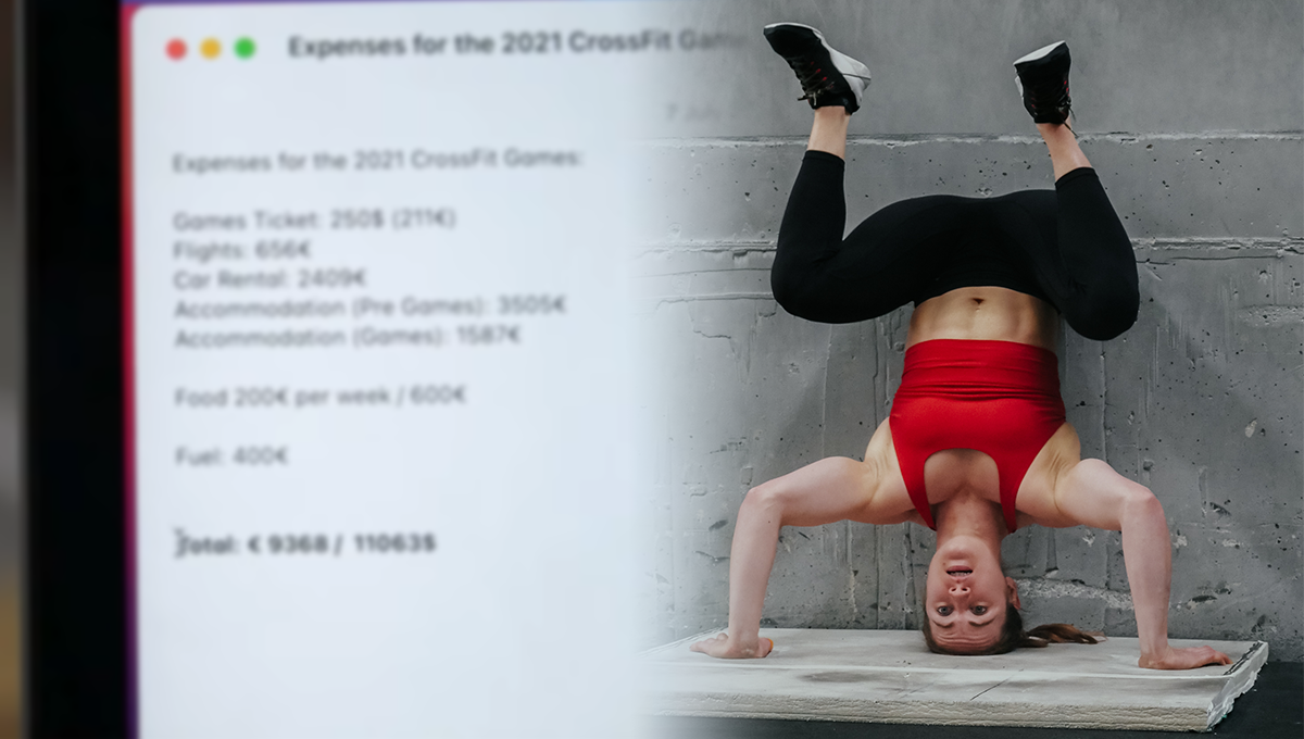 costs for international athletes competing at the CrossFit Games