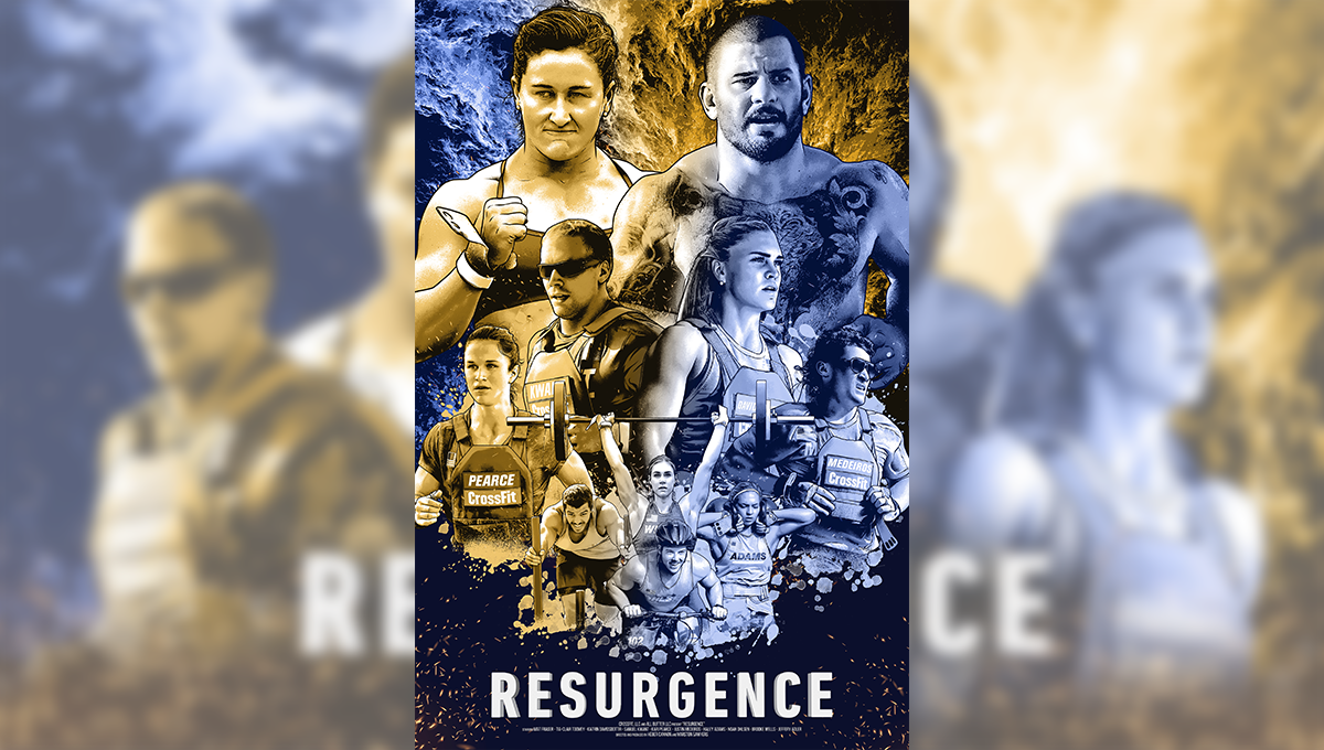 crossfit games documentary resurgence poster