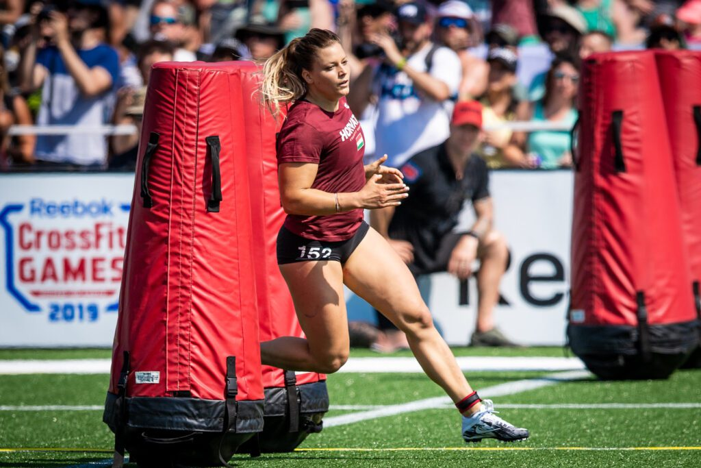 Laura Horvath sprint crossfit games cuts