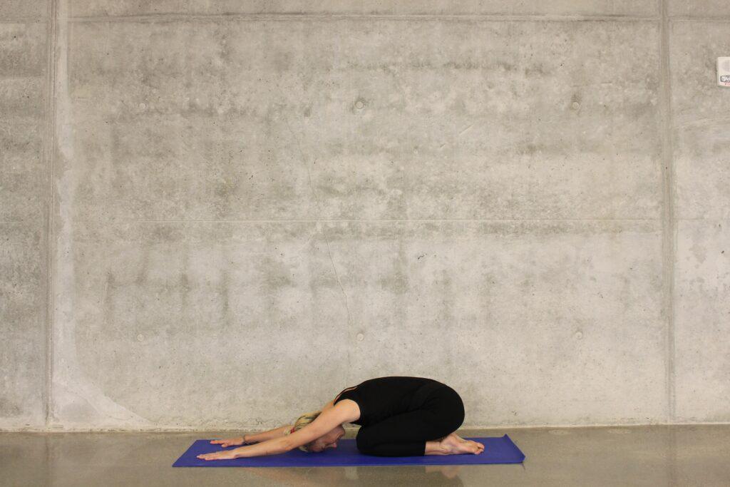 practice restorative yoga poses routinely