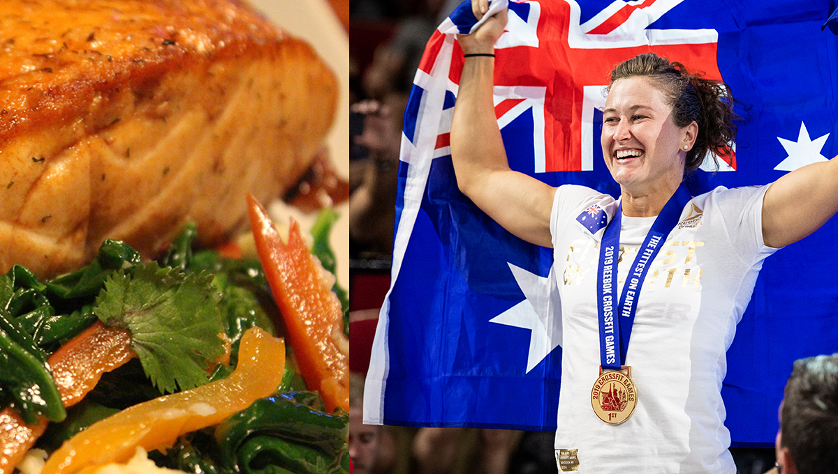what does the world's fittest woman eat in a day?