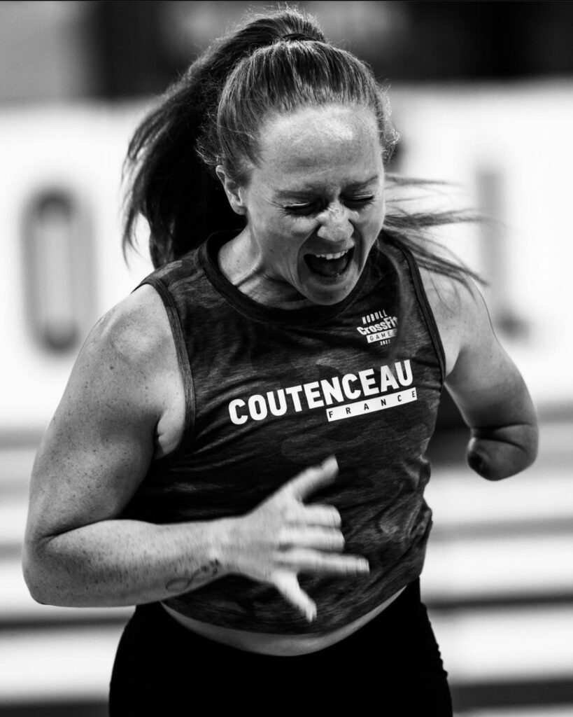 Anne-Laure Coutenceau Great Moments from the 2021 CrossFit Games