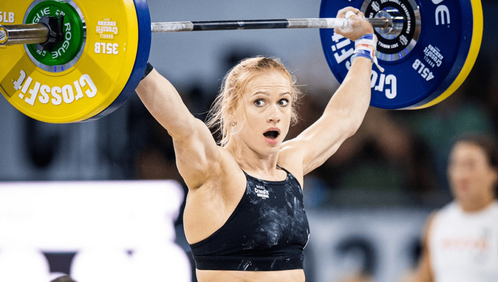 Great Moments from the 2021 CrossFit Games workouts from Annie Thorisdottir