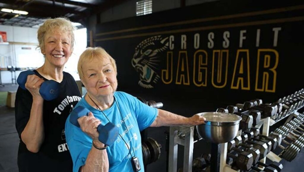 Oldest competitive powerlifter in the world Edith Murway-Traina