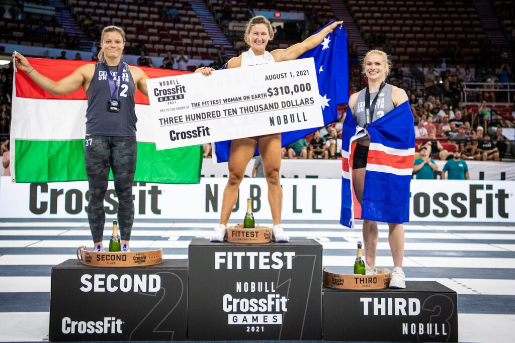 How much money did athletes win at the 2021 CrossFit Games?