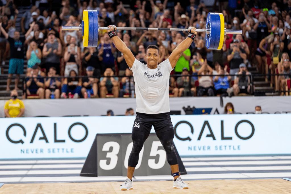 Guilherme Malheiros snatch win CrossFit Games