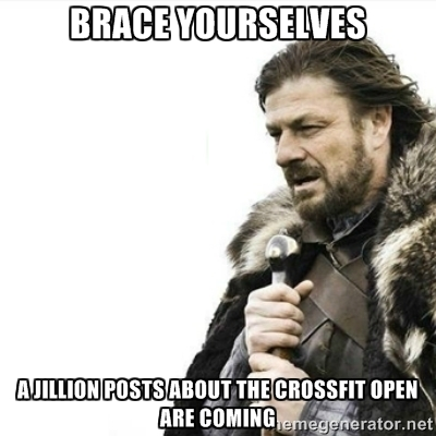 Funny memes about the CrossFIt Open