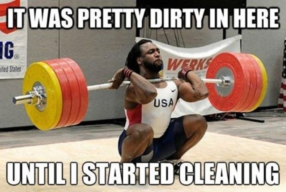 Olympic Weightlifting Memes