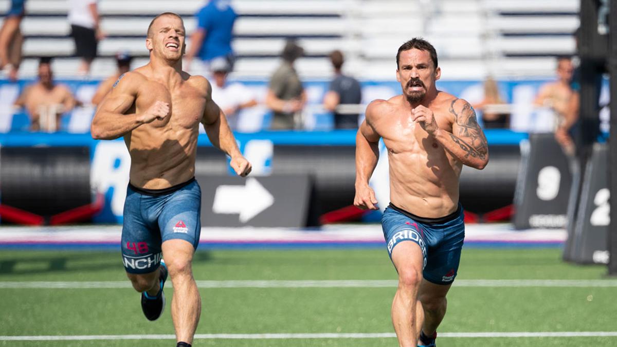 running WODs Scott and Josh