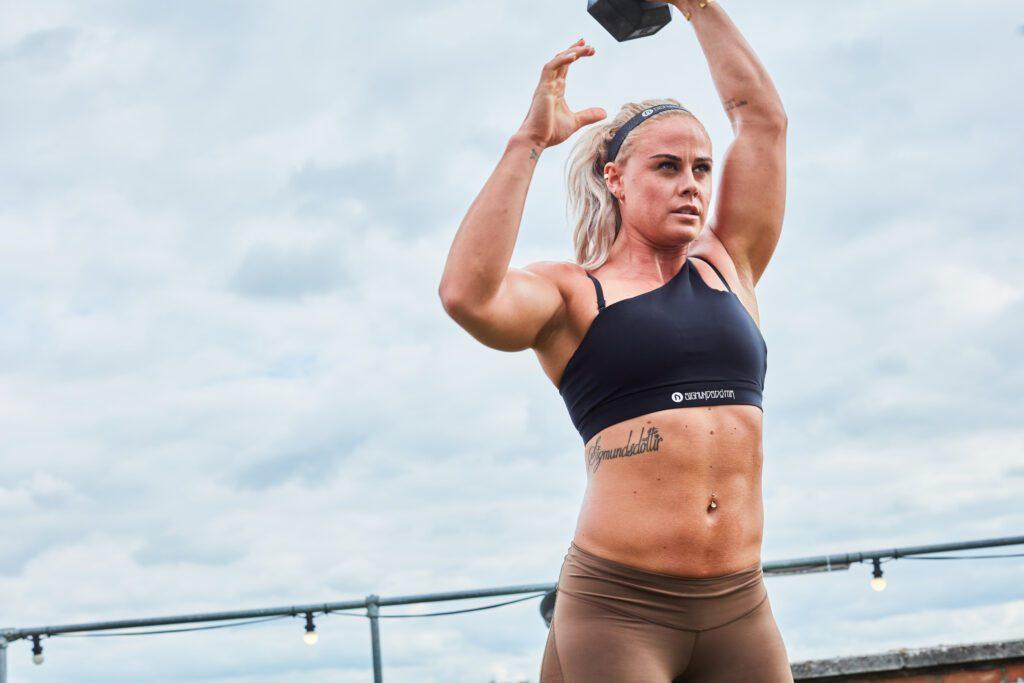 Sara Sigmundsdottir embraces her physique