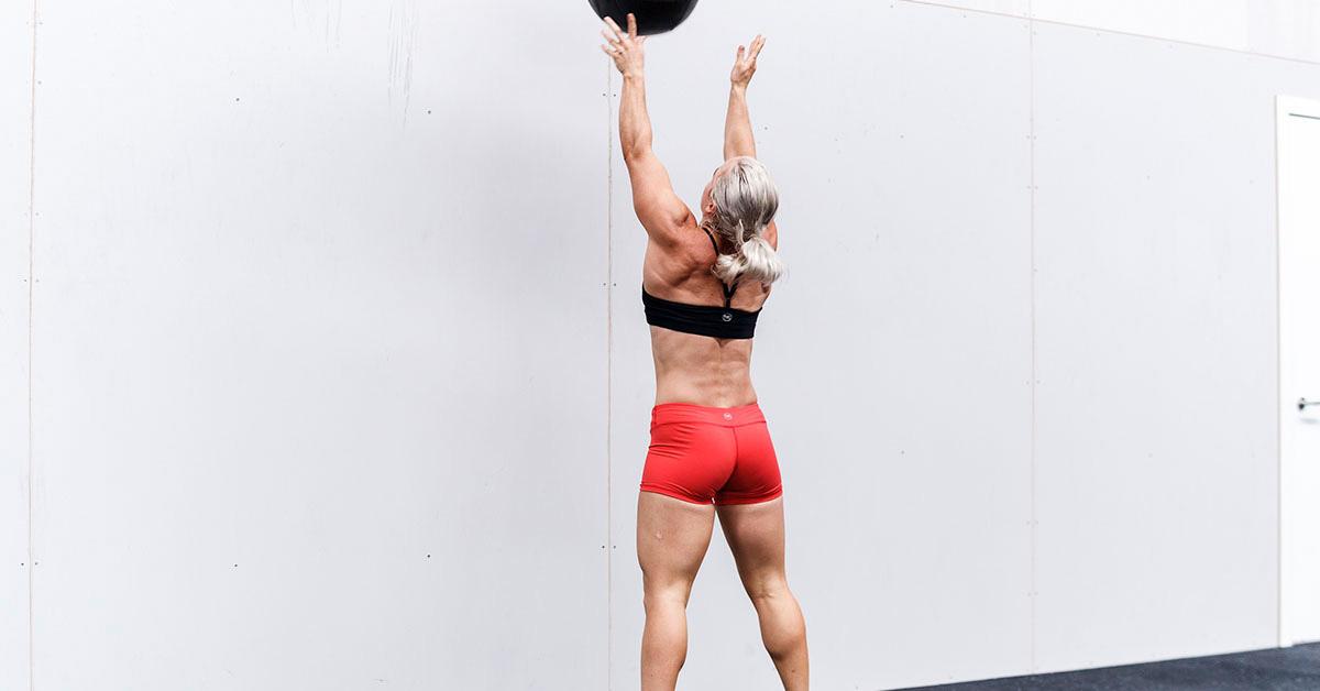 Wall Ball WODs Athlete