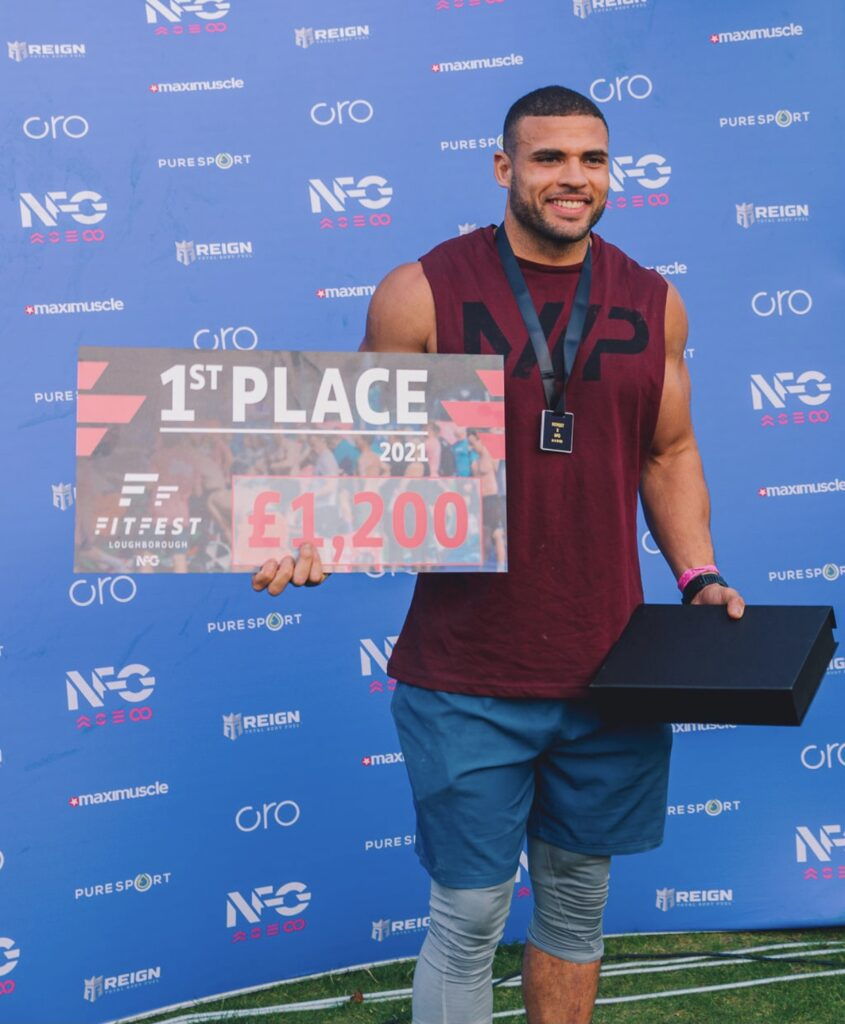 Zack George wins gold at National Fitness Games