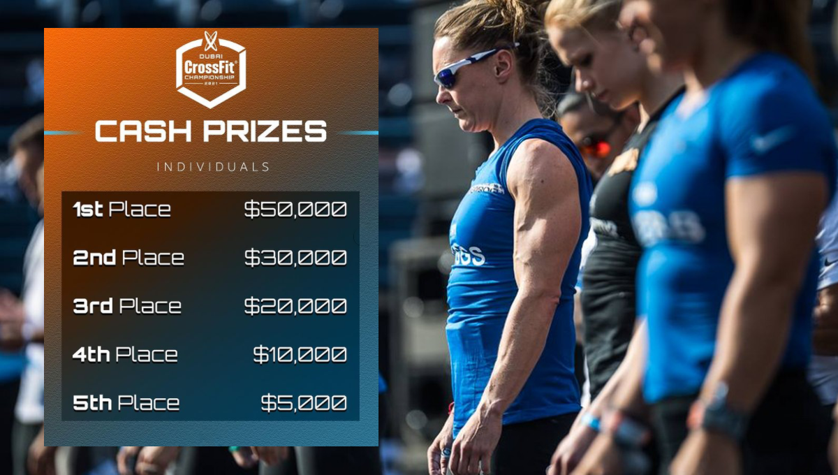 Dubai CrossFit Championship Prize Purse Released with Every Athlete Earning Money | BOXROX