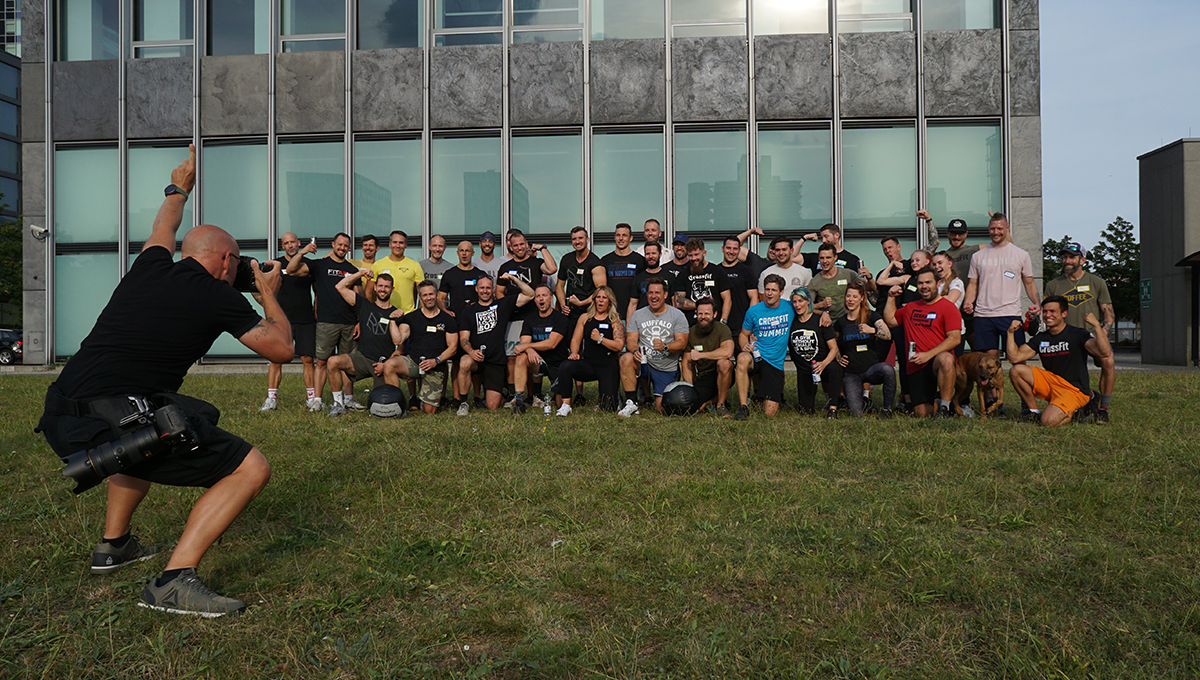 Community of DACH CrossFit affiliate owners with Eric Roza